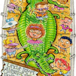 Mike Shiell Children's Illustration Cartoon Example