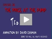 Ted Rall 2D Animation Cartoon Example