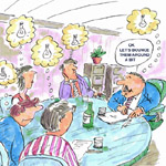 Richard Howell Gag Cartoon Cartoon Example