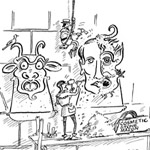 RR Gag Cartoon Cartoon Example
