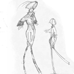 Van der haeghe Alexis Character Design Cartoon Example