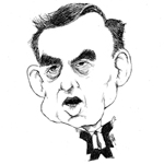 Mark Winter Caricature Cartoon Example