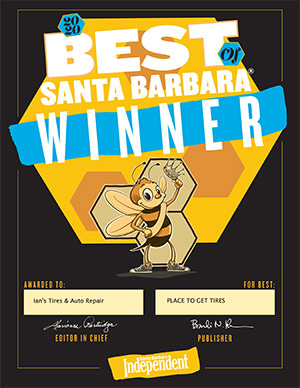 Independent Best of Santa Barbara Award