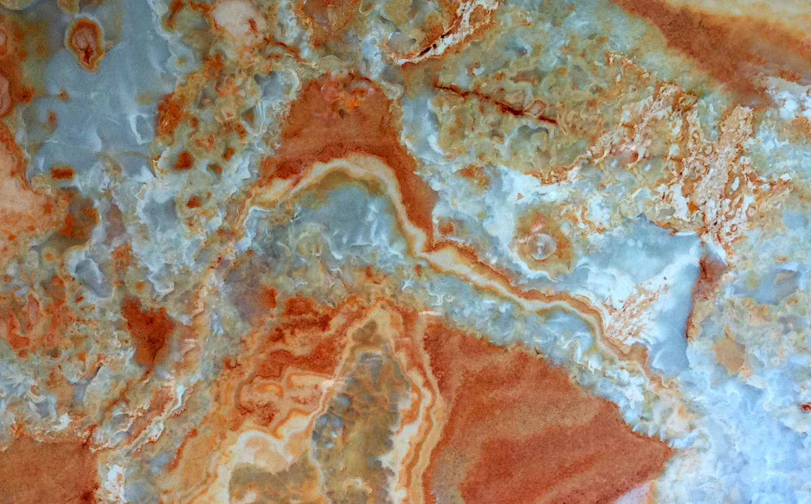 StarStone orange marble cladding