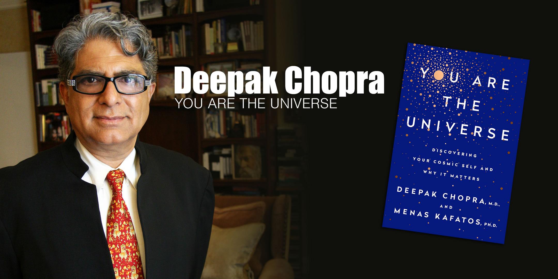 Deepak Chopra 02/19/2017 Center For Spiritual Living, Newport-Mesa