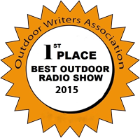 2015 1st Place Outdoor Radio Show Award