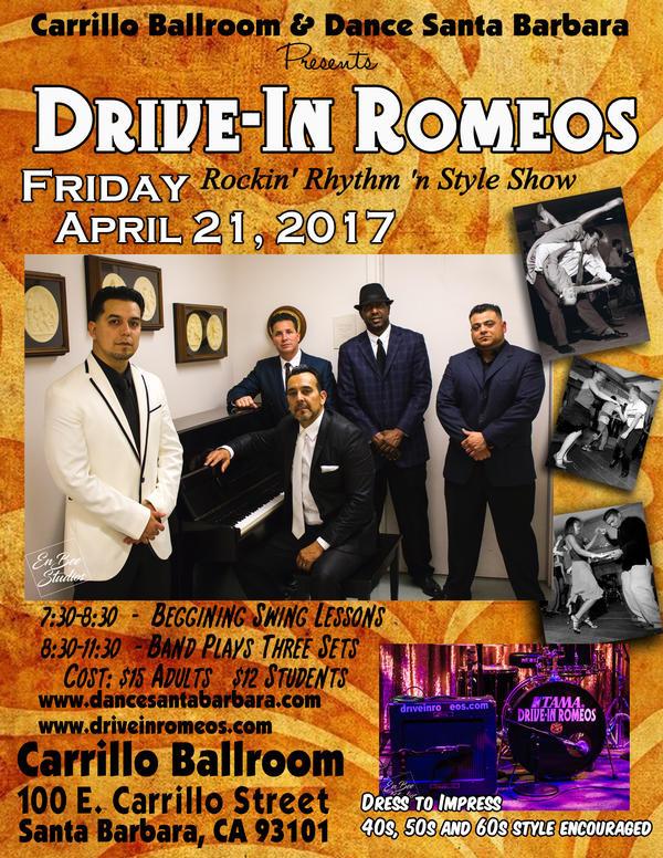 April 21st Drive in Romeos
