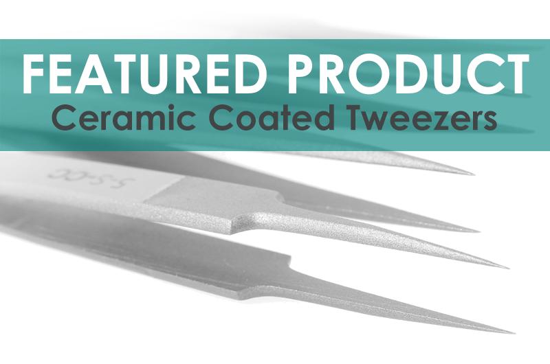 Ceramic Coated Tweezers