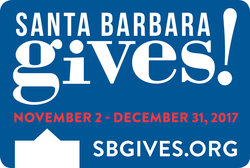 Santa Barbara Gives! Badge
