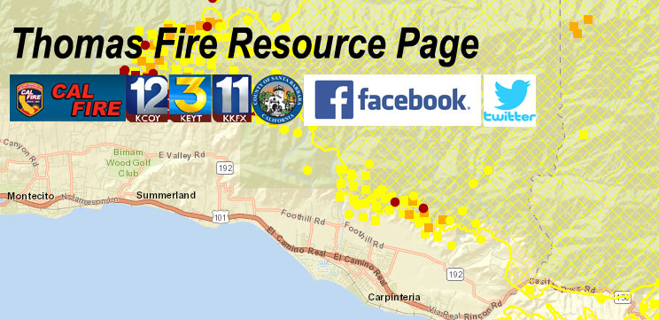 Thomas Fire Resource Page