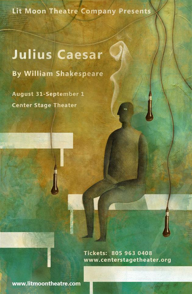 Santa Barbara Theater Plays Julius Caesar Poster