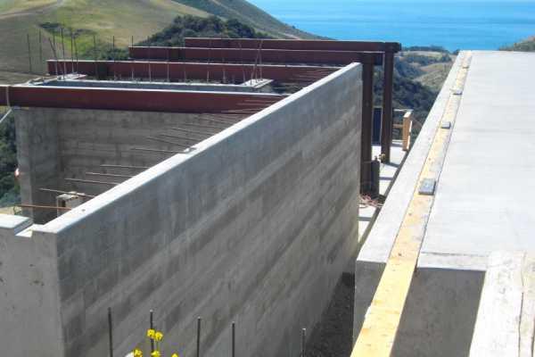 Commercial Anacapa Concrete Santa Barbara