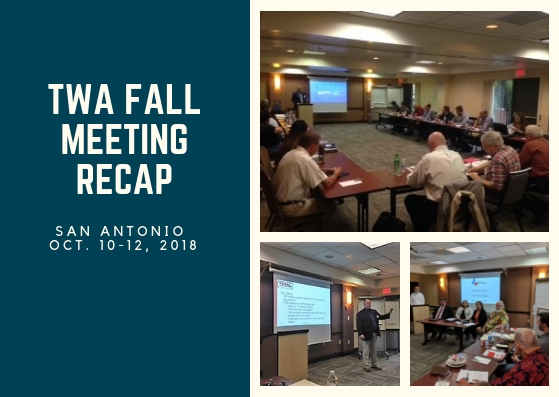 2018 TWA Fall Meeting