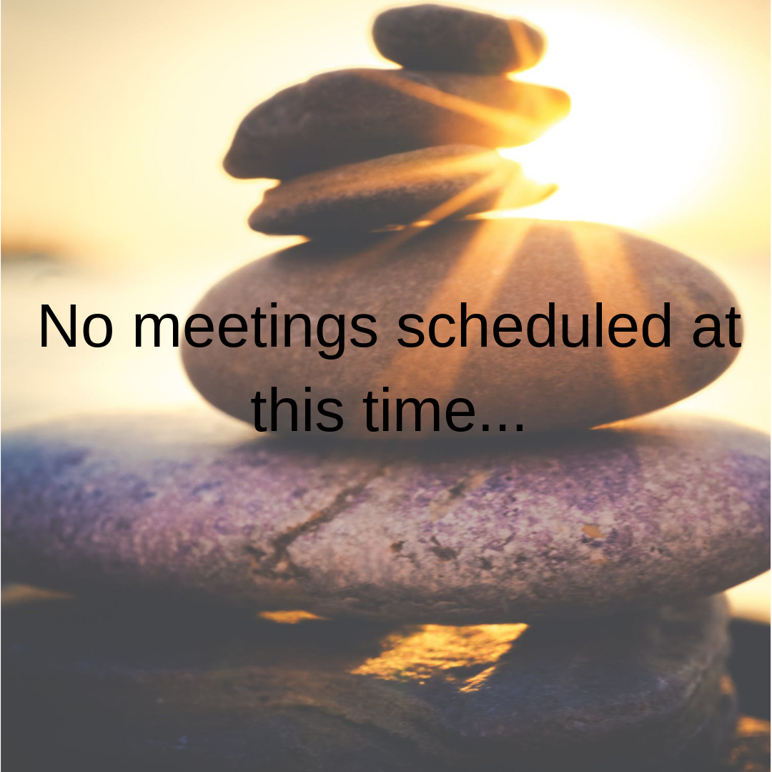 No Meetings At This Time