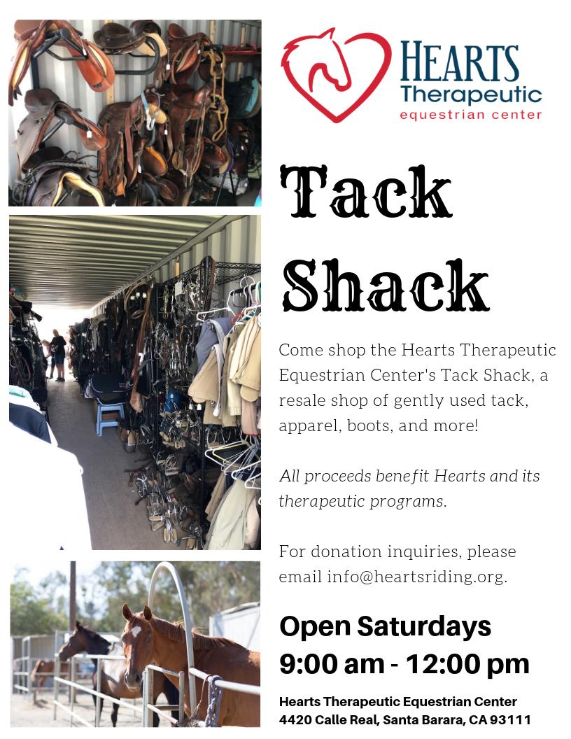 Tack Shack - Hearts Riding