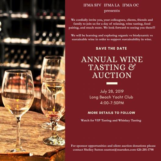 2019 Wine Tasting & Auction