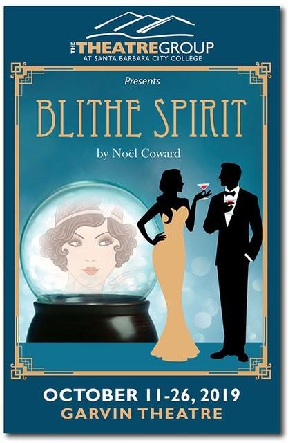 Blithe Spirit Show Poster