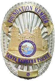 Santa Barbara Police Foundation Badge