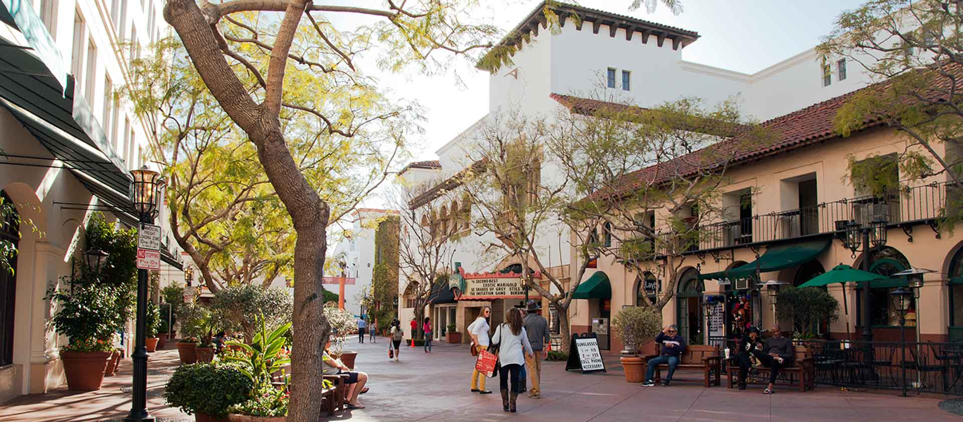 Downtown Santa Barbara Shopping and Dining