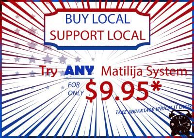 Matilija Buy Local Special