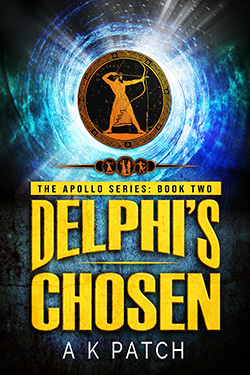 Delphi's Chosen by author A.K. Patch