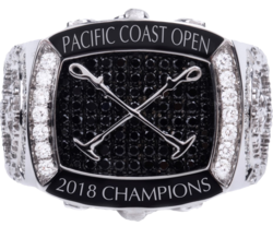 2018 Pacific Coast Open Championship Ring