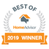 Home Advisor 2019 Winner ACT Installs