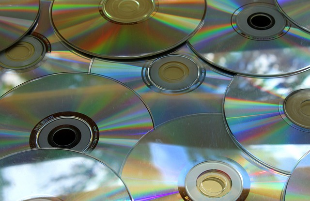 CDs or DVDs