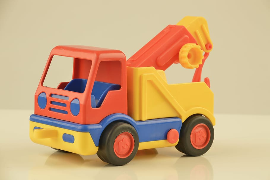 Large Rigid Plastic Toys