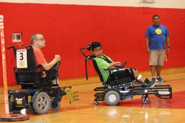 Power Wheelchair Soccer UCP Work, Inc. Santa Barbara