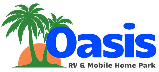 Oasis RV & Mobile Home Park Logo
