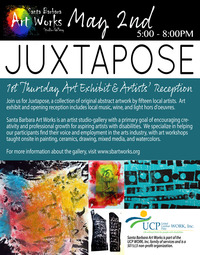 poster art of May 2nd 2019 1st Thursday Arts Exhibition