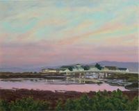 Moss Landing Morning, 16 X 20, pastel