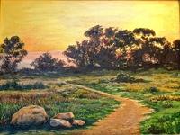 """""""The Bluffs Sunset"""", 18 X 24, oil"""