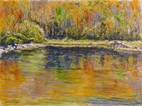 """""""Kirkenes Reflections"""", 12 X 16, oil"""