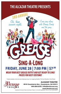 3rd Annual Grease Sing-A-Long