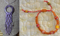 Micro-Macramé Jewelry: Ages 12 to Adult
