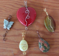 Jewelry: Creative Pendants from Large Beads