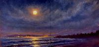 Nocturne Painting en Plein Air