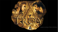 TROY - The Movie, starring Brad Pitt Clash of the Titans