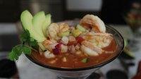 Mexican Shrimp Cocktail (Coctel de Camarones)