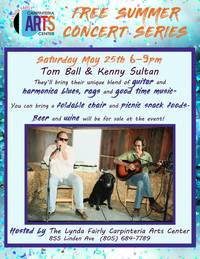 Summer Concert Series - Tom Ball & Kenny Sultan