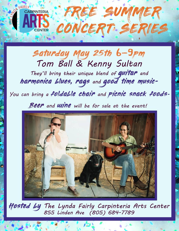 Summer Concert Series - Tom Ball & Kenny Sultan