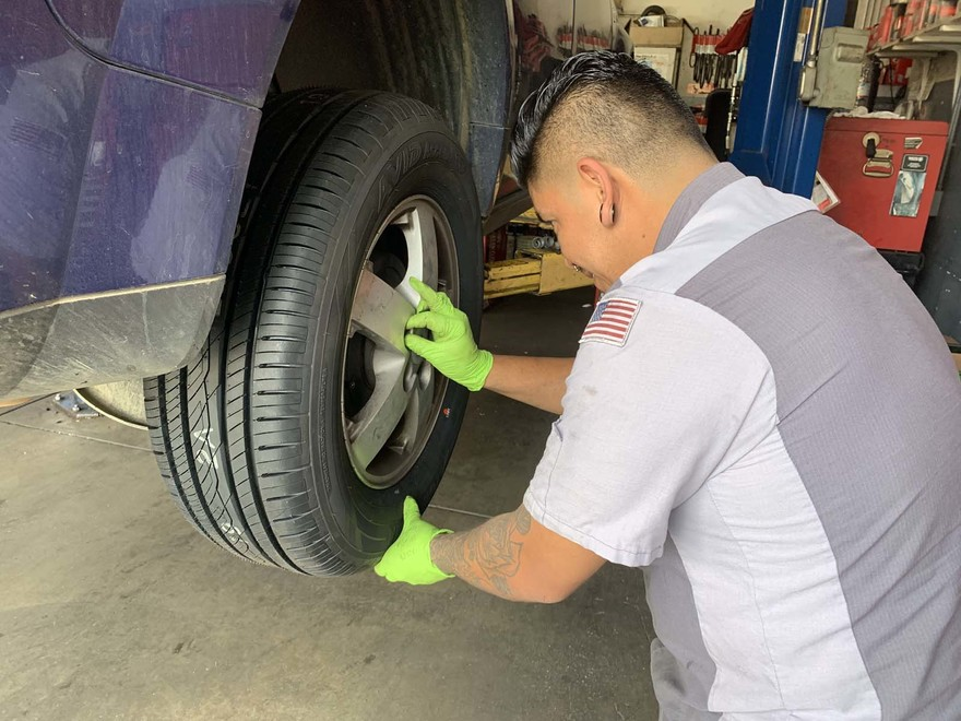 $50 off Tires & Alignment