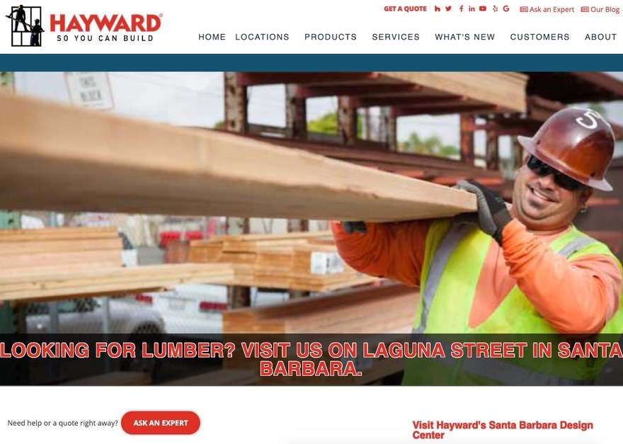 Hayward Lumber Santa Barbara Secondary