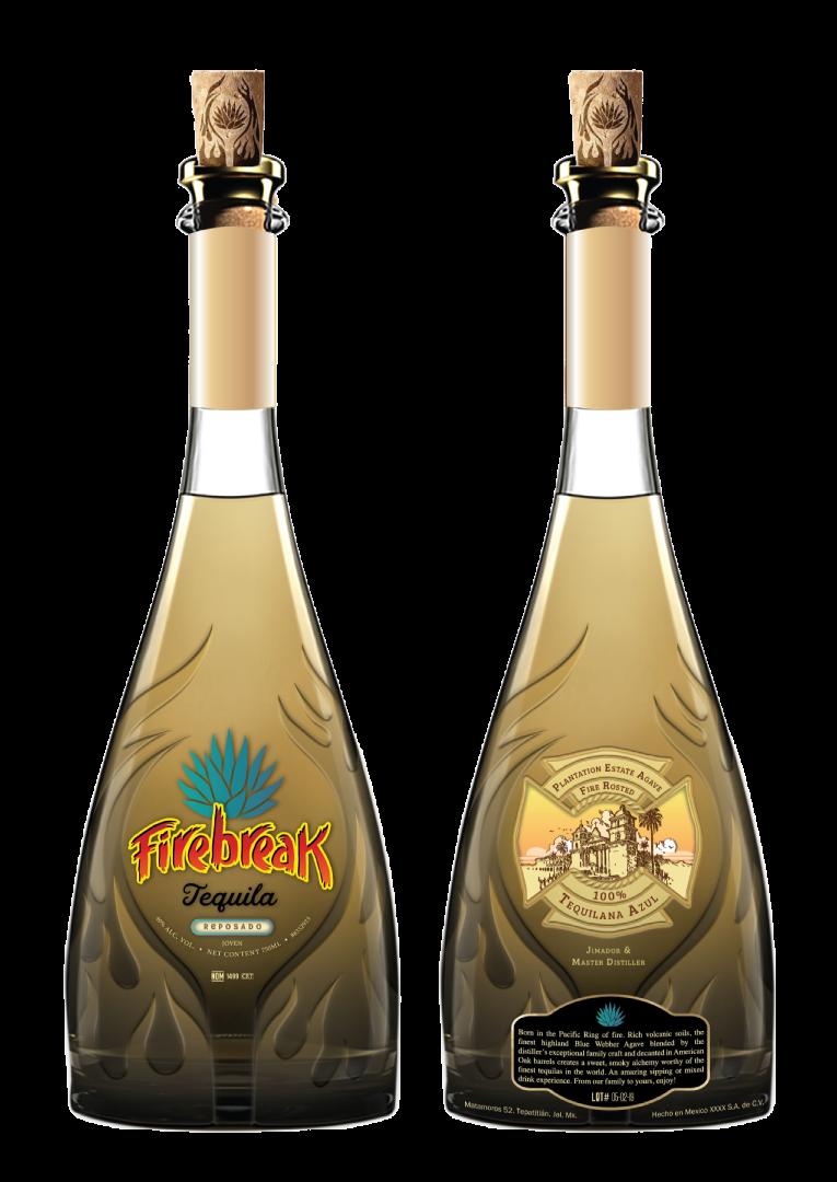 Firebreak Tequila Bottle