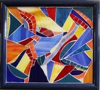 Tropical Birds Mosaic by Paula Gregoire-Jones
