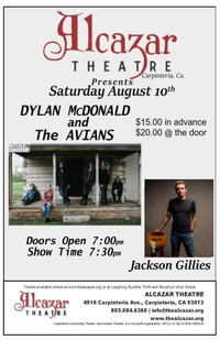 Dylan McDonald and the Avians/ Jackson Gillies