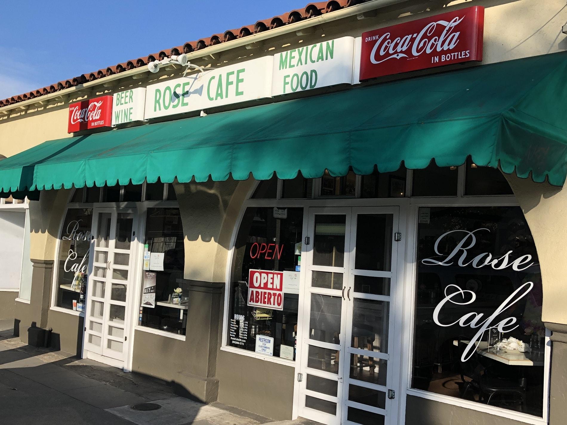 Rose Cafe Storefront