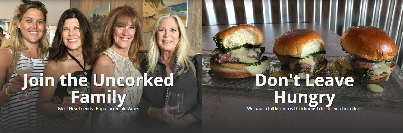 Uncorked Wine Tasting and Kitchen Food